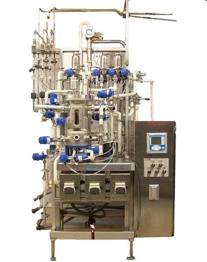 Used Bioengineering JB Michiels Fermenter Skid w/ 7 L Jacketed Bioreactor PARTS 7326R