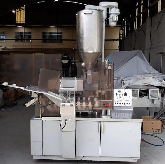 Usado Envasadora automática de bisnagas de alumínio