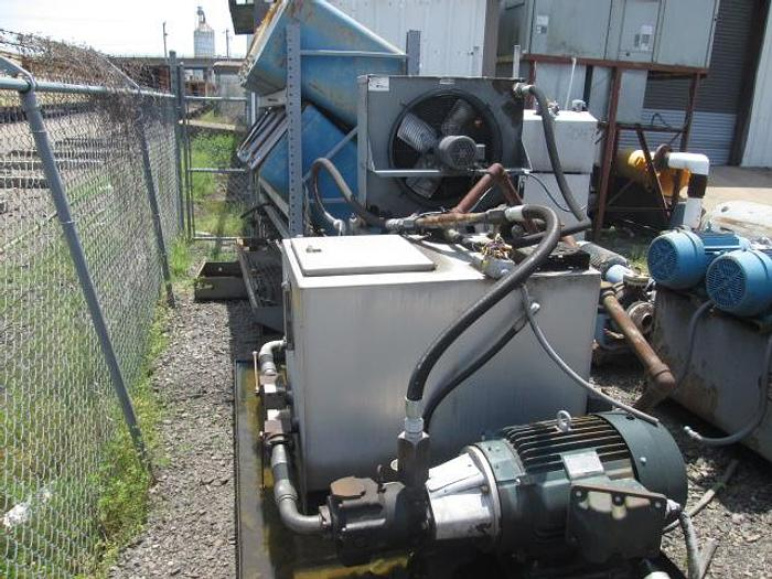 Used Motion Industries Hydraulic Power Pack w/(2) 40HP