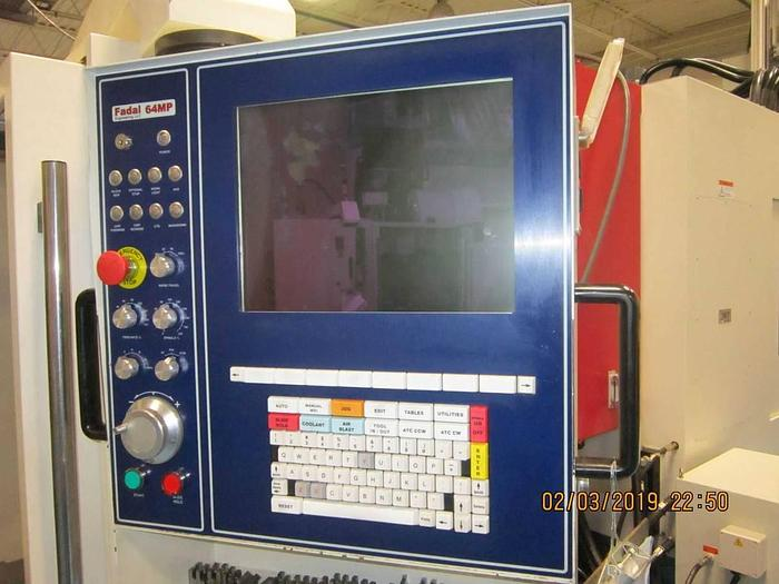 2014 Fadal CNC Vertical Machining Center   4020B