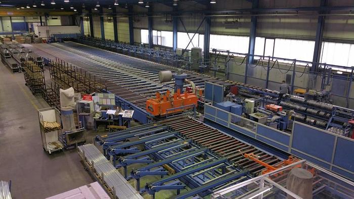1250 ton Aluminum Extrusion Line: EX-485