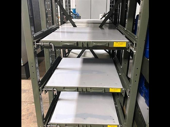 Used Rack Engineering E-Z Glide Rack System
