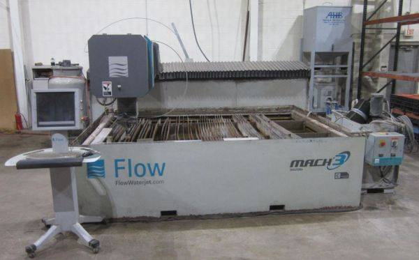 2011 Flow Mach WATER JET CNC MACHINE  44431