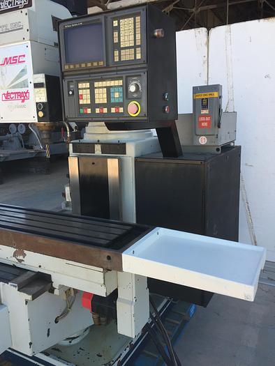 MSC Vectrax Model GS 30 N 3-Axis CNC Vertical Milling Machine