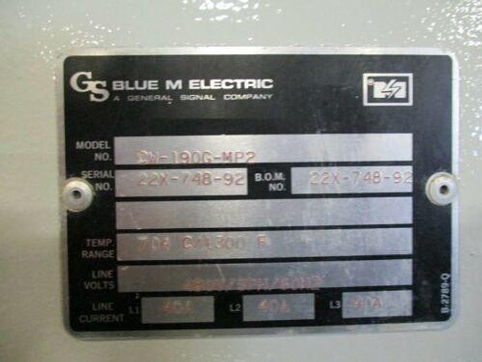 "BLUE M 1300 DEGREE OVEN / FURNACE MODEL CW 190G MP2 24"" X 36"" X 48"" INSIDE DIMS"