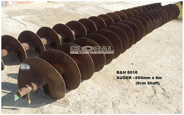 """Used Item 5016 : 22""""(550mm) Auger"""