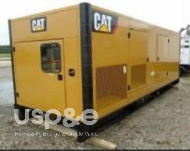 Used .65 MW 2020 USED CATERPILLAR C18 Lo-BSFC DIESEL GENERATOR SETS