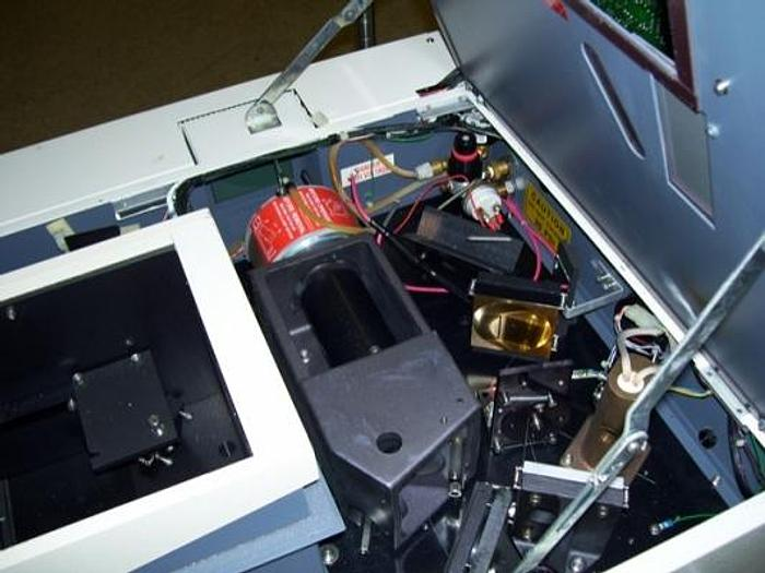 Used BIORAD QS-300  FT-IR Spectrometer  200mm
