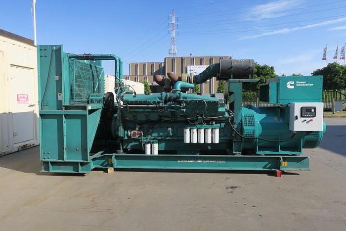 Used 2010 Cummins KTA50G3 - 1250 KVA
