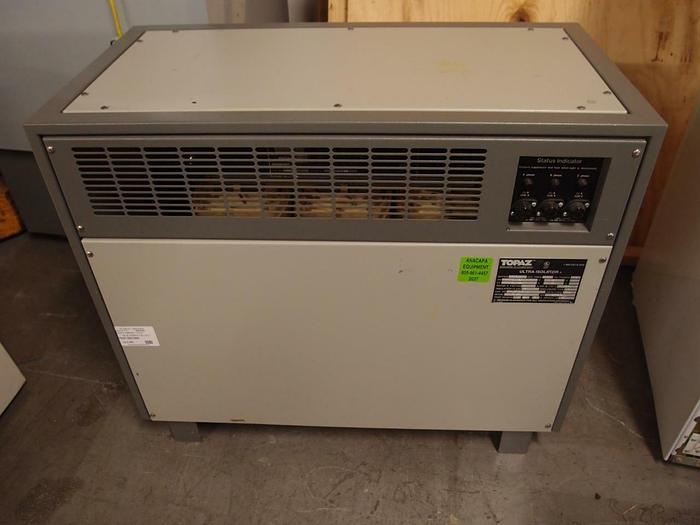 Used Square D Topaz Ultra Isolator  30 kVA Transformer Suppressor 97203 EPE (2037)