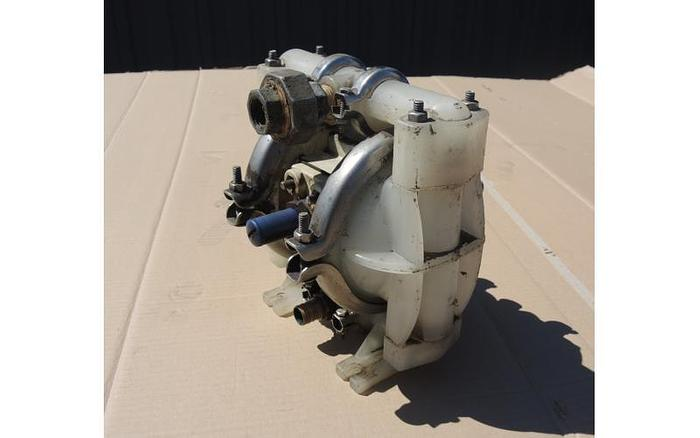 "Used USED DIAPHRAGM PUMP, 0.5"" X 0.5"" INLET & OUTLET, POLYPROPYLENE"