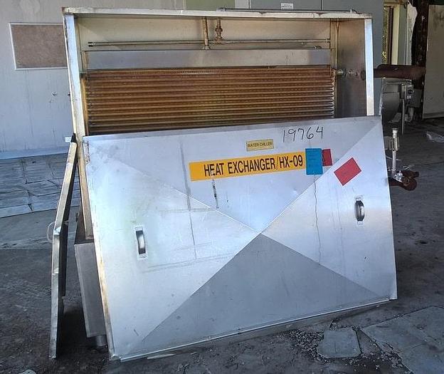 Used Chester Jensen Plate Freezer; Md#B-4-OT-1-24
