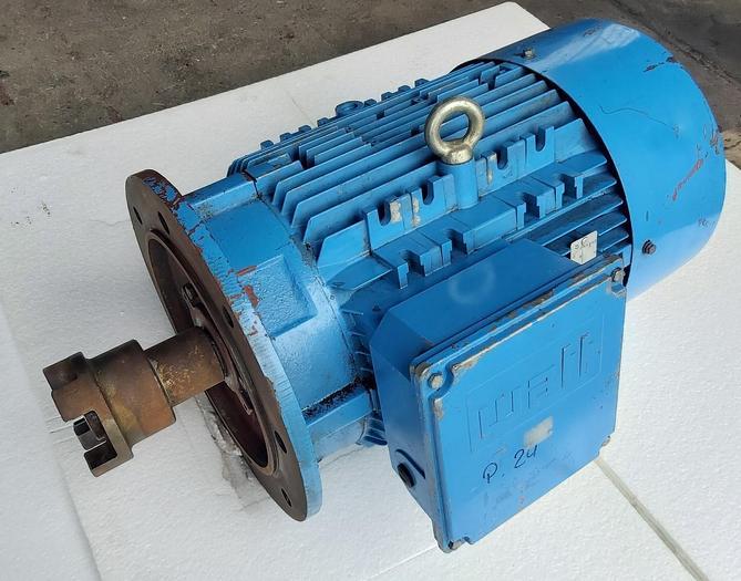 Gebraucht Elektromotor, Flanschmotor 11KW, 2WAF161M4, Watt gebraucht