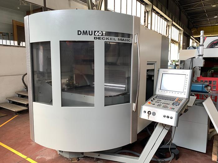 Usata Centro di Lavoro Verticale DMG DMU 60 T