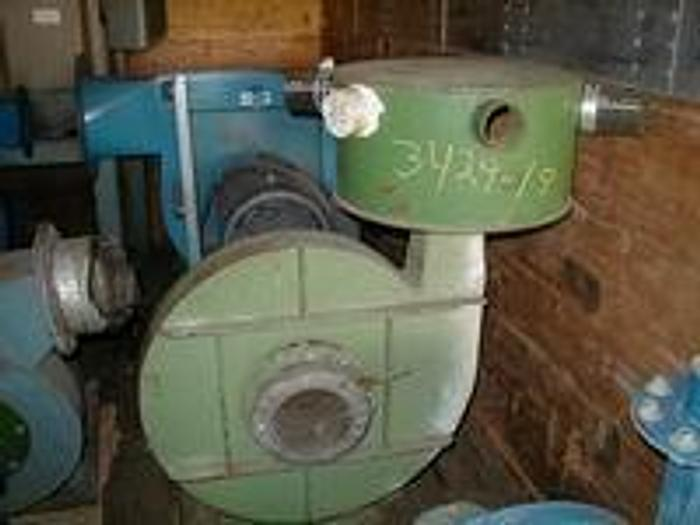 Used 5.5 KW Piller blower with Plenum