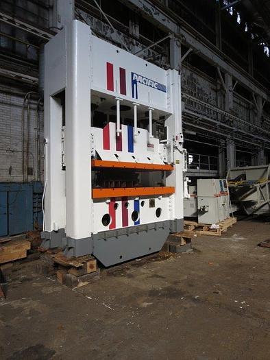 Used 400 TON PACIFIC STRAIGHT SIDE HYDRAULIC PRESS