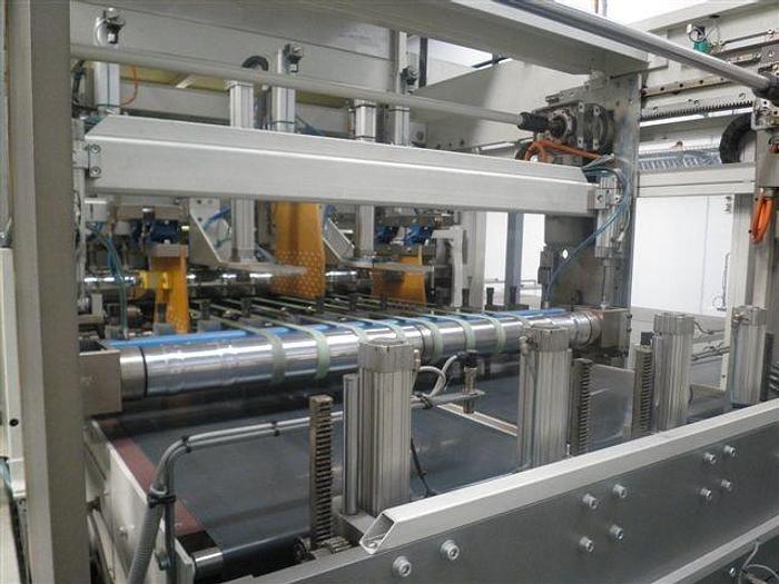 "Used 51"" (1.30M) PASABAN KB SHEETING COUNTING AND PALLETIZING MACHINE MFG. 2006"