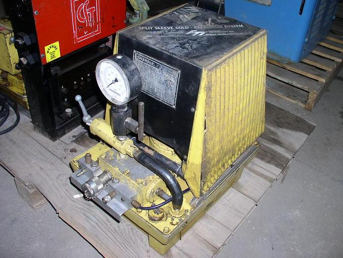 Used Enerpac Model E0E1555 Hydraulic Unit