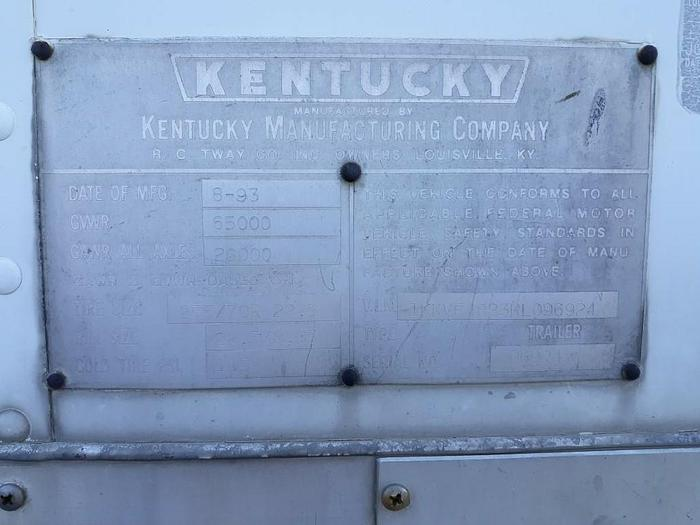 1994 KENTUCKY MOVER BOX