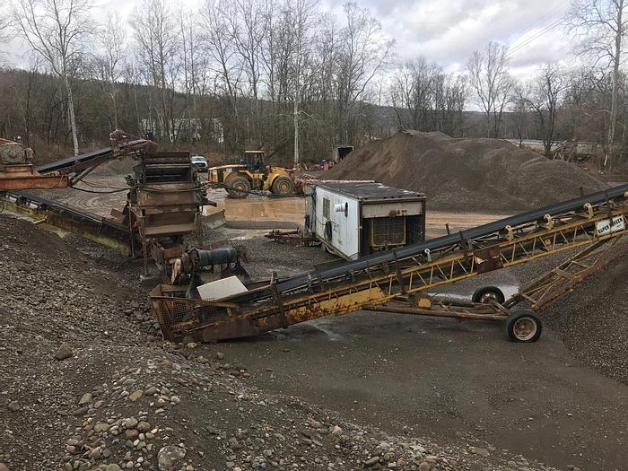 Used EAGLE CRUSHER/SCREENER SYSTEM