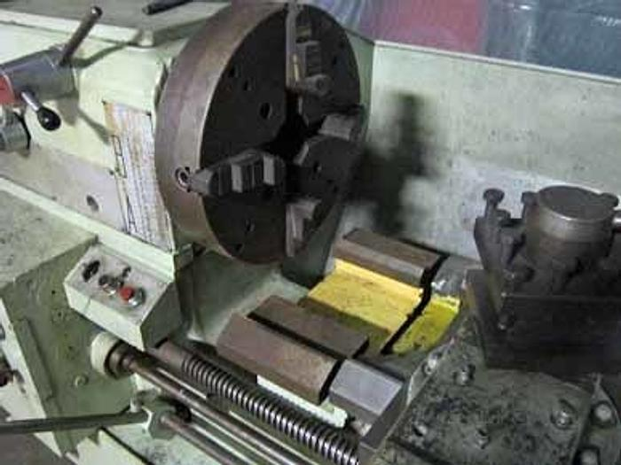 "21"" x 120"" Broadbent Schofield Gap Bed Lathe, 34"" Swing & Gap, SR, 1968"