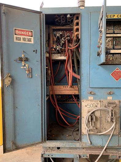 PILLAR 250 Kw, 3200 Hz Mk8 INDUCTION FURNACE