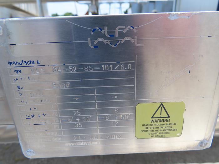Alfa-Laval Tube-In-Tube Heat Exchanger