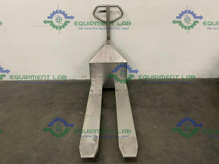 """Used Robusto SH1000 Millipore Trolley X-1845 Heavy Duty Stainless Steel Lift Cart 20"""""""