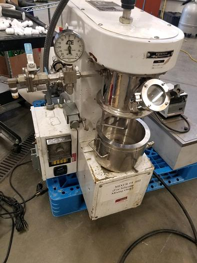 Used 1.5 LITER PREMIER DOUBLE PLANETARY MIXER - S/S - VACUUM - JACKETED