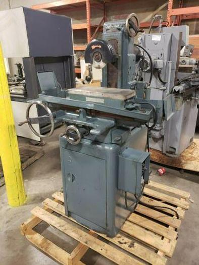 "BOYER SCHULTZ CHALLENGER MANUAL SURFACE GRINDER WITH MAG CHUCK 6"" X 18"""