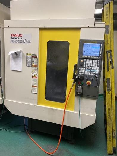 2013 Fanuc  Robodrill D21MiA5 with 4th Axis