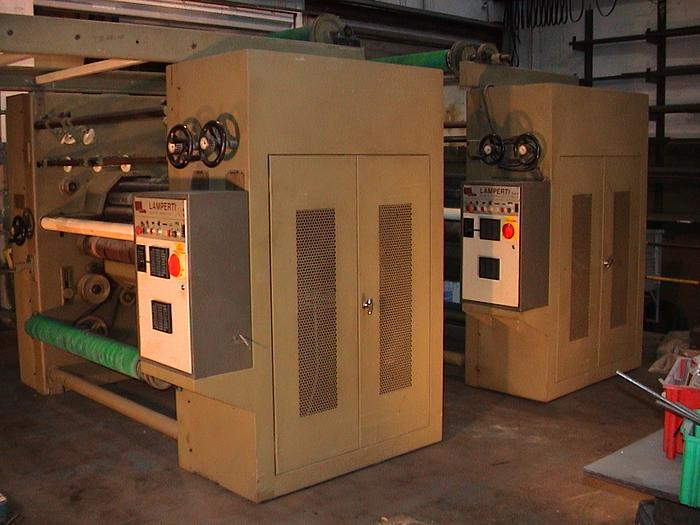 Used LAMPERTI raising machine
