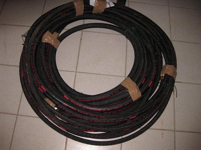Gebraucht 3 Stück Hochdruck-Dampfschläuche