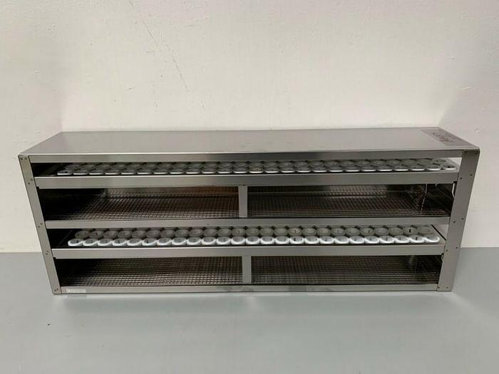 Used Argos R15208A Upright Freezer Drawer Rack for 15mL Tubes, Holds 208