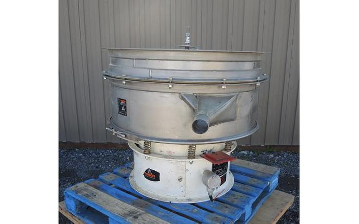 """USED KASON SCREEN, 40"""" DIAMETER """"PNEUMATIC SIFTER"""", STAINLESS STEEL, DOUBLE DECK"""