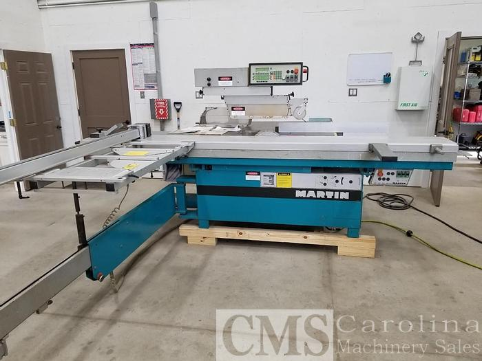 Used 1999 Martin T72 Sliding Table Saw