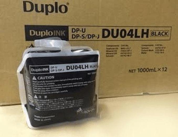 DUPLO Duprinter 7140N Black Ink Pack of 12 x 1000cc