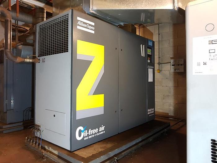Used 2009 ATLAS COPCO ZT 55VSD FF Air Compressor (Oil Free)