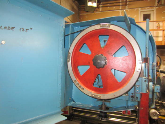 """36"""" DoAll Model 3612-2H Vertical Contouring Vertical Bandsaw with Table Feed 5530"""