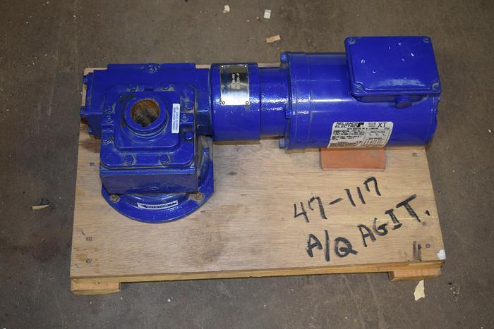 Used Sharpe Mixers, Sharpe mixers model 1E3-30 gear box and 1HP motor, sharp mixer