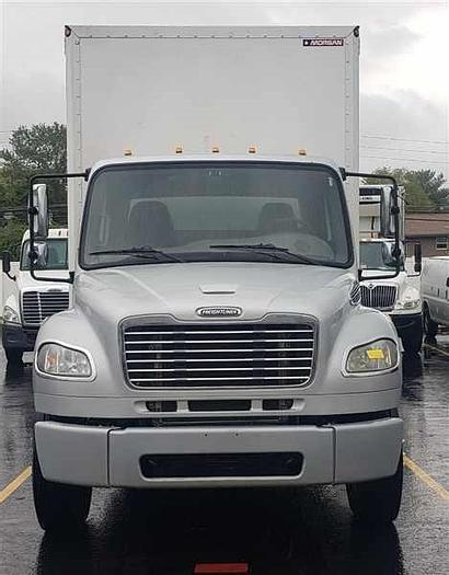 Used 2014 FREIGHTLINER M2 CURTAIN SIDE 28 FT BOX