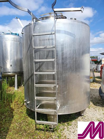 Used 6,000 Litre Stainless Steel Single Skin Tank