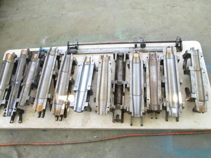HYDRAULIC TUBE FORMING MACHINE / SWAGING / PIPE EXPANDING MACHINE WITH DIES