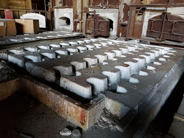 Wagstaff Vertical DC Aluminum Log Cast House: MC-422