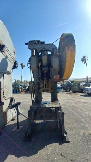 Used BLISS 95 TON OBI PUNCH PRESS W/ AIR CLUTCH 6 INCH STROKE