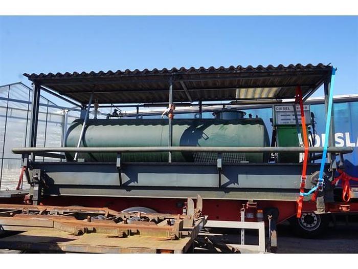 Used 2005 Tolsma Tankbouw Diesel Fuel tank station 5.000 Ltr KIWA gekeurd
