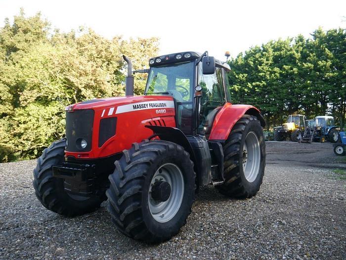 Used Massey Ferguson 6490 4wd Tractor