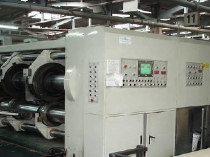 Used Keshenlong for ICM KYS 4300x2200 2 color slotter (2005)