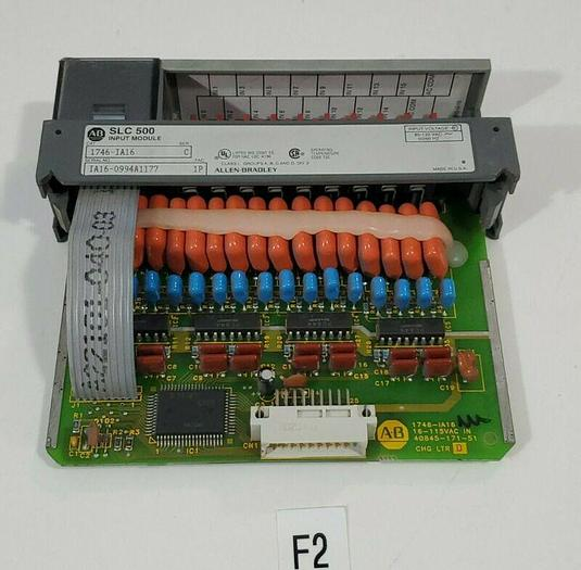 Used *PREOWNED* Allen-Bradley 1746-IA16 I/O Module 16 Inputs SLC 500 + Warranty!