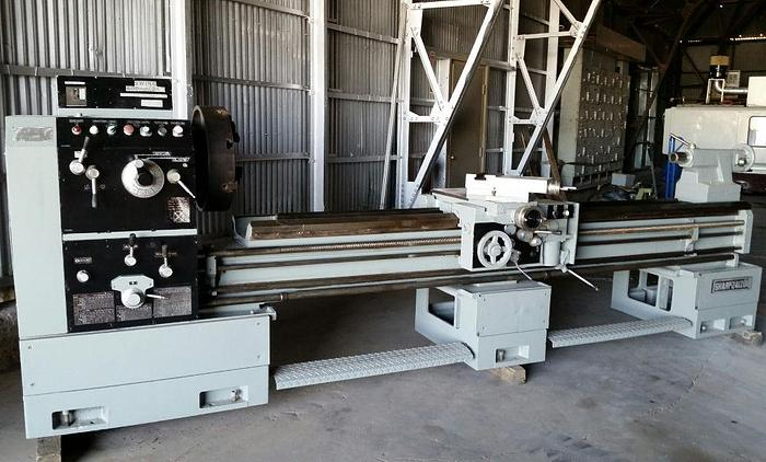 "24"" Sharp Model 24120K Heavy Duty Precision Lathe"